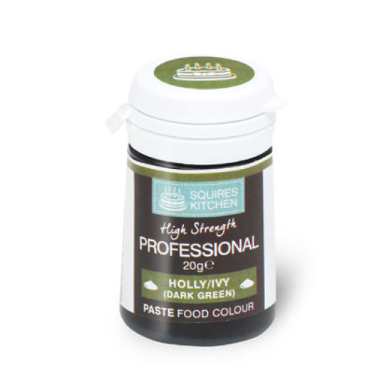 SK Professional Food Colour Paste Holly/Ivy (Dark Green) 20g