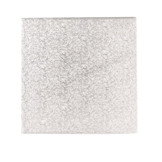Silver 3mm Thick Hardboards - Square - 8 Inch