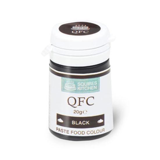 SK QFC Quality Food Colour Paste Black 20g