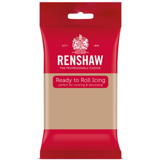 Renshaw Ready to Roll Icing Latte 250g