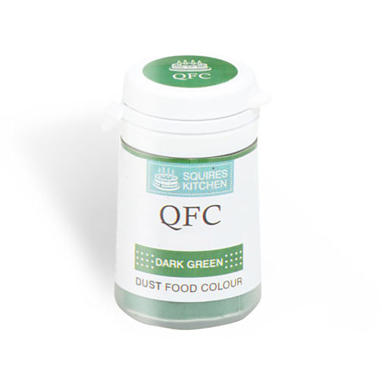 SK QFC Quality Food Colour Dust Dark Green 4g