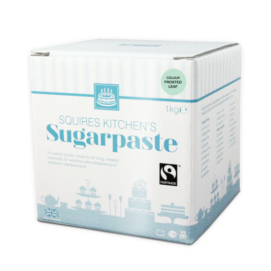 SK Fairtrade Sugarpaste Frosted Leaf 1kg