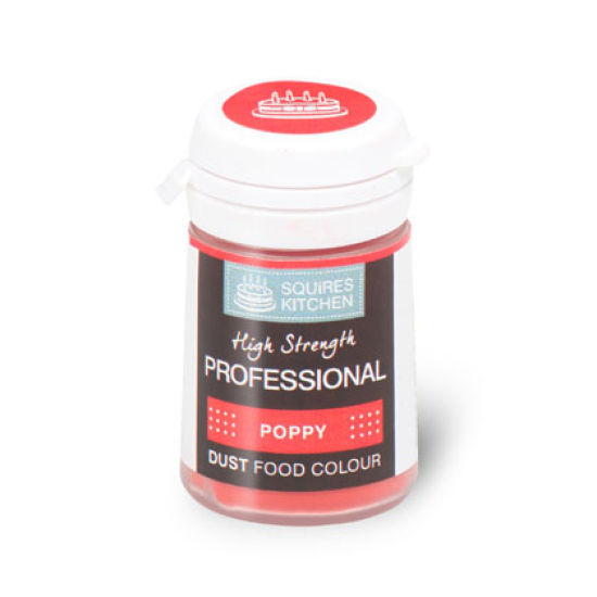 SK Professional Food Colour Dust Poppy 4g