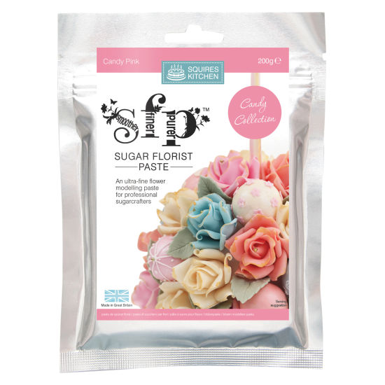 SK SFP Sugar Florist Paste Candy Pink 200g