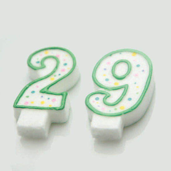Wilton Green Number 7 Candle