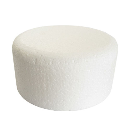 Round Chamfered Edged Cake Dummy - 10 Inch