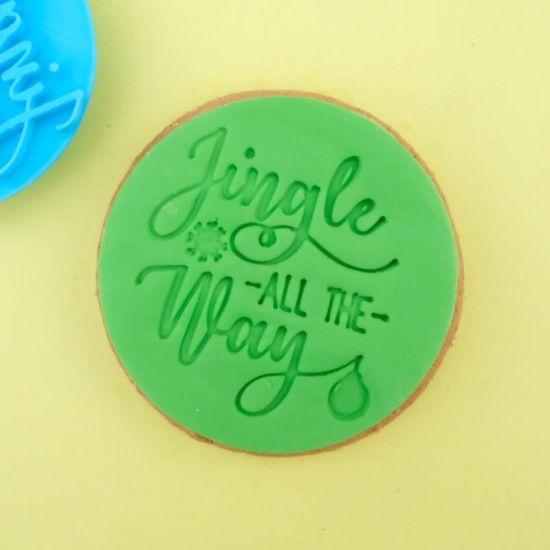 Sweet Stamp Jingle All The Way Cupcake Embosser