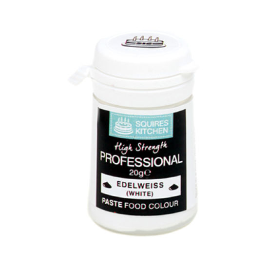 SK Professional Food Colour Paste Edelweiss White 20g