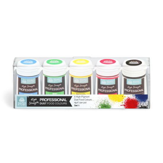SK Professional Food Colour Dust Set 1