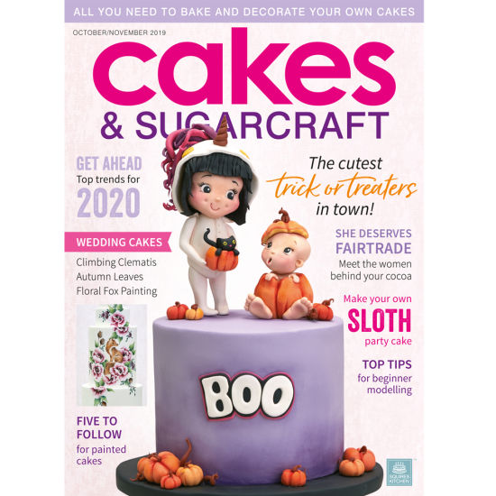 Cakes & Sugarcraft Magazine October/November 2019
