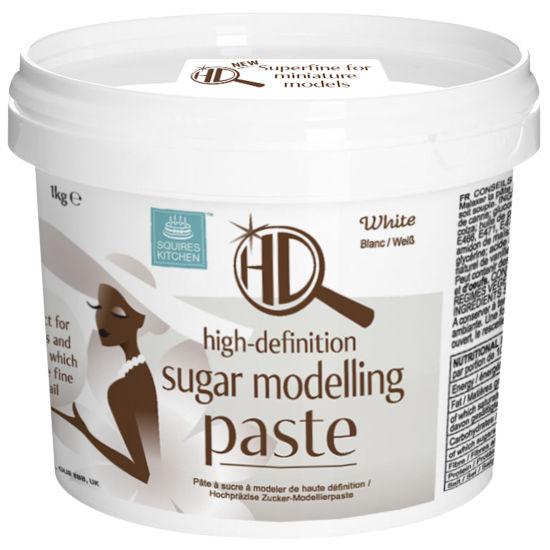 Squires Kitchen Superfine HD Sugar Modelling Paste White 1kg