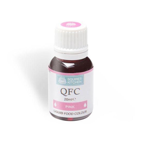 SK QFC Quality Food Colour Liquid Pink 20ml