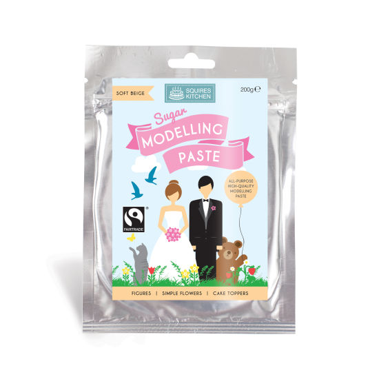 SK Fairtrade Sugar Modelling Paste Soft Beige 200g