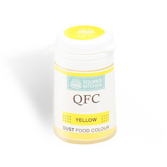SK QFC Quality Food Colour Dust Yellow 4g