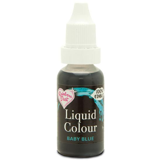 Rainbow Dust Liquid Colour - Baby Blue 19g