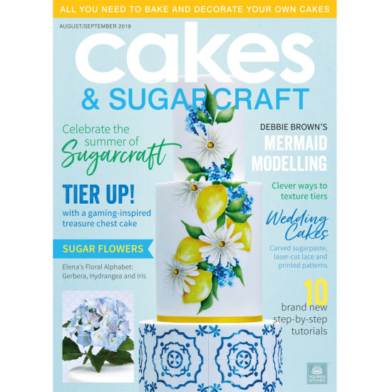 Cakes & Sugarcraft Magazine August/September 2019