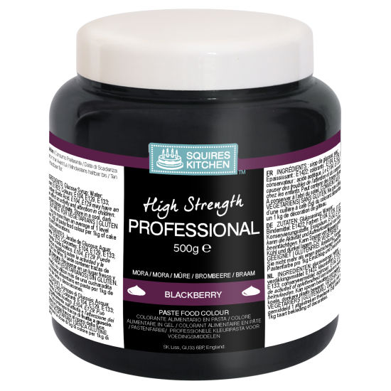 SK Professional Food Colour Paste Blackberry (Black) 500g