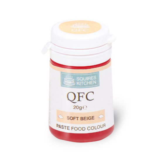 SK QFC Quality Food Colour Paste Soft Beige 20g
