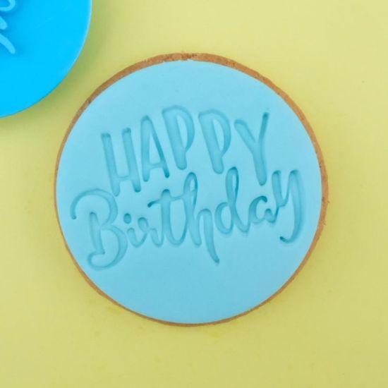 Sweet Stamp Fun Happy Birthday Cupcake Embosser