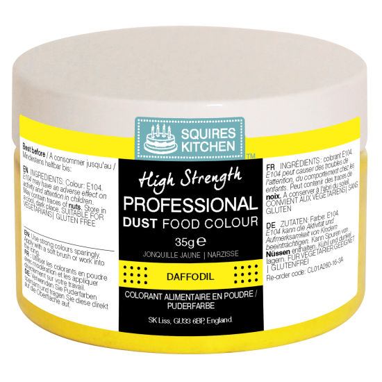 SK Professional Food Colour Dust Daffodil (Yellow) 35g