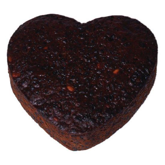 Heart Rich Fruit Cake 10 Inch