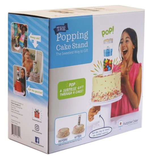 Surprise Cake Popping Cake Stand