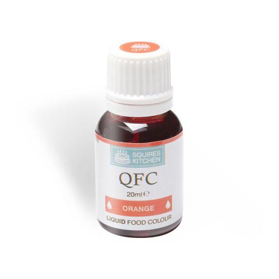 SK QFC Quality Food Colour Liquid Orange 20ml