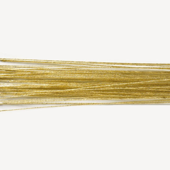 Hamilworth Metallic Floral Wires - Gold