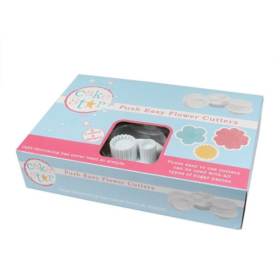 Cake Star Push Easy Cutters - Flowers Set