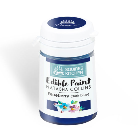 SK Edible Paint by Natasha Collins Blueberry (Dark Blue)
