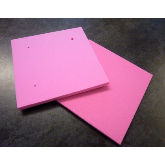 Foam Petal Pad with Mexican Hat Holes