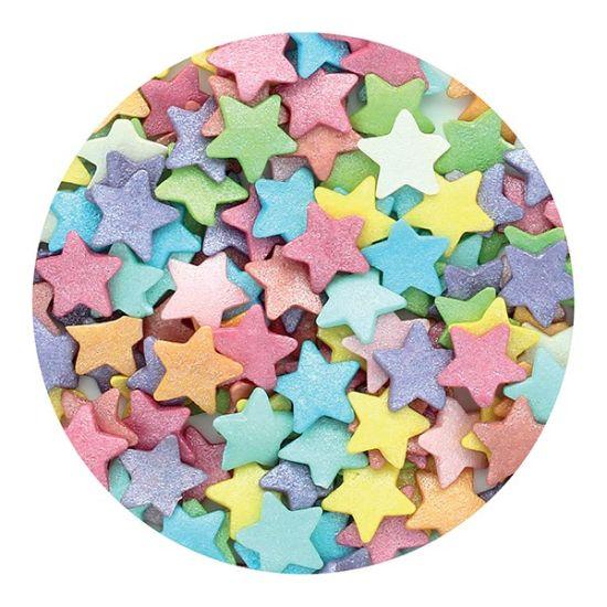 Purple Cupcakes - Jumbo Multi Stars 50g