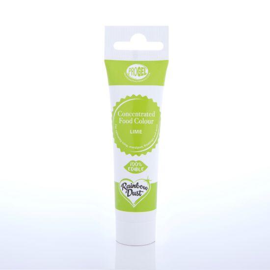 Rainbow Dust ProGel Professional Food Colour - Lime