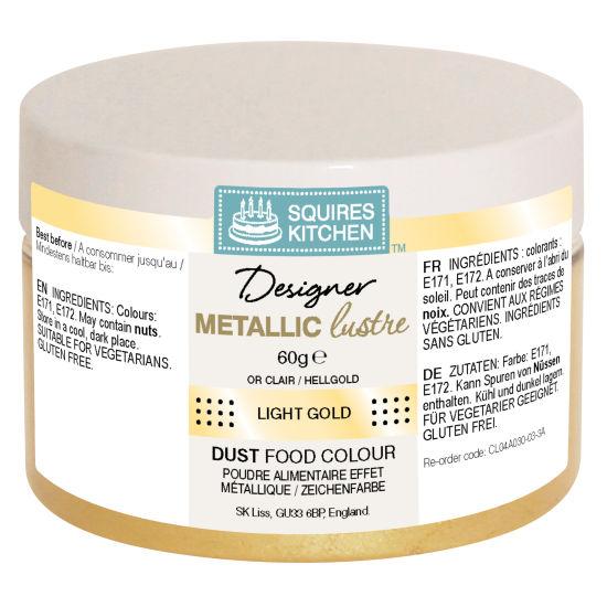 SK Designer Metallic Lustre Dust Light Gold 60g