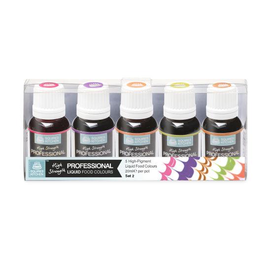 SK Professional Food Colour Liquid Set 2