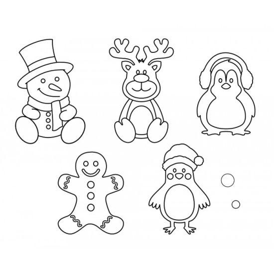 Patchwork Cutter & Embosser Christmas Theme