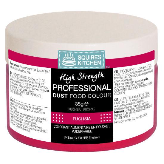 SK Professional Food Colour Dust Fuchsia 35g