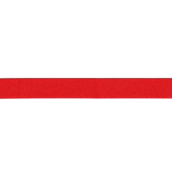 Glamour Red Double Faced Satin Ribbon - 3mm