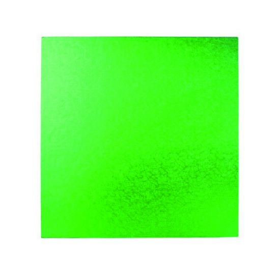 Green Drum 1/2 Inch Thick Square 8 Inch