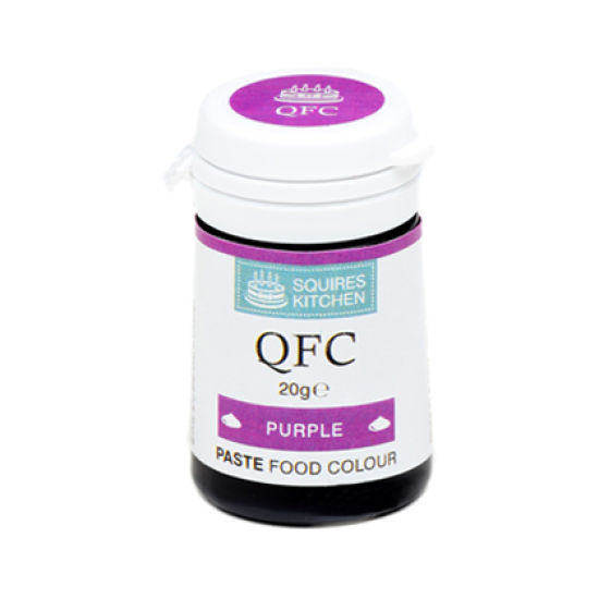 SK QFC Quality Food Colour Paste Purple 20g