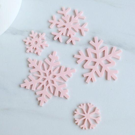 Sweet Stamp Snowflakes Embossing Elements