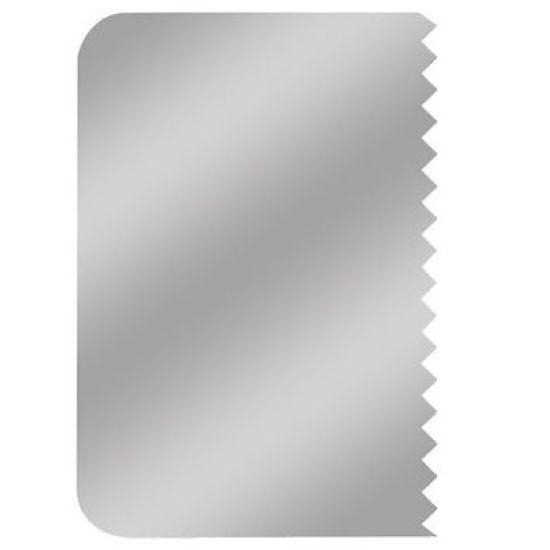 PME Pattern Edge Metal Side Scraper