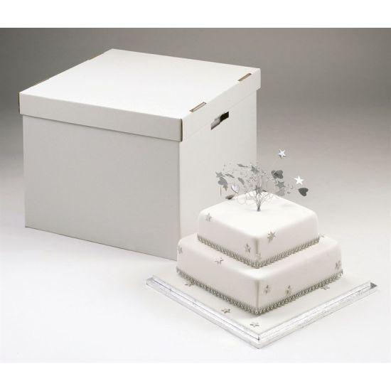 "Stacked Cake Box - 14/16"""