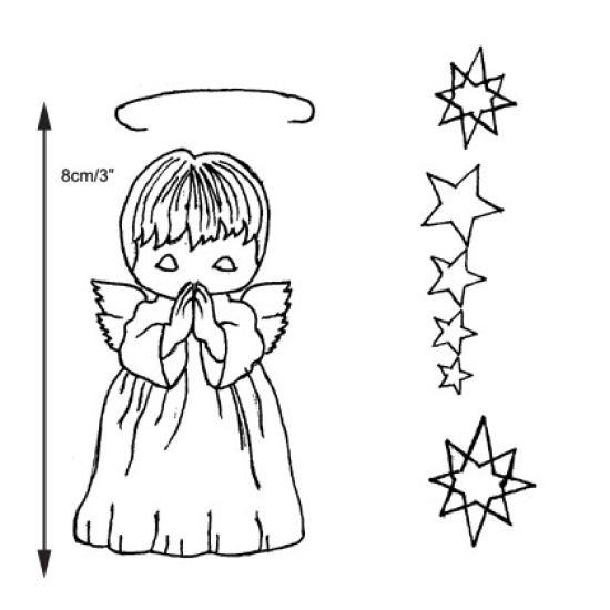 Patchwork Cutter & Embosser Angel