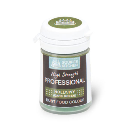SK Professional Food Colour Dust Holly/Ivy (Dark Green) 4g
