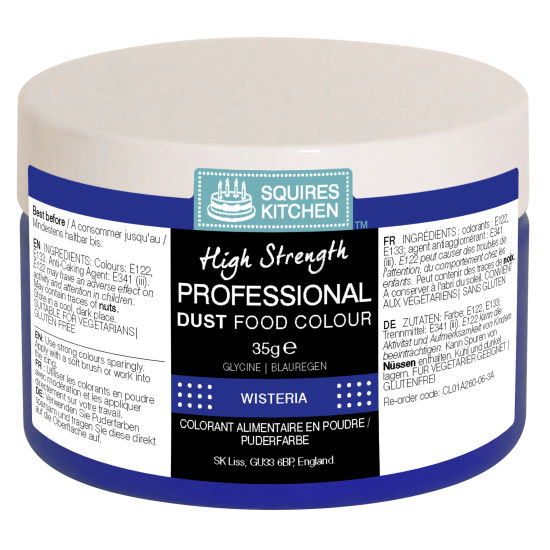 SK Professional Food Colour Dust Wisteria 35g