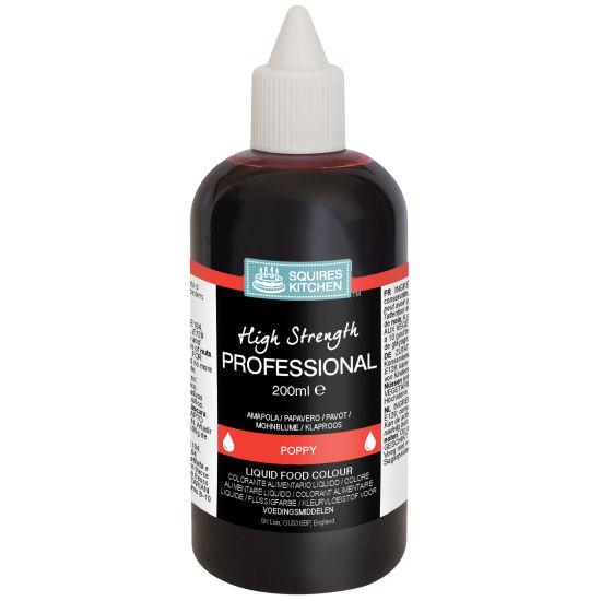 SK Professional Food Colour Liquid Poppy