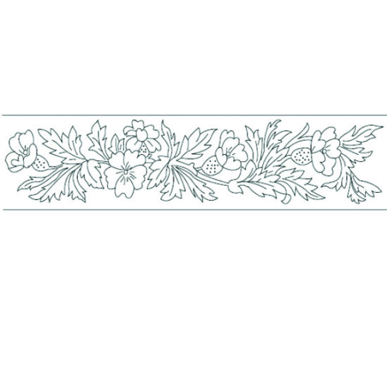 Patchwork Cutter & Embosser Floral Side Designs
