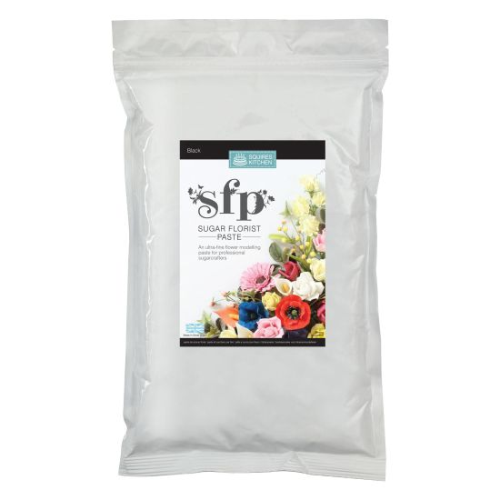 SK SFP Sugar Florist Paste Black 1kg