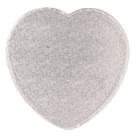 Silver Drum 1/2 Inch Thick Heart 8 Inch